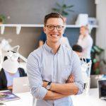 Businesspeople Rekruttering på vegne av kunde