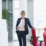 Businesspeople på vegne av oppdragsgiver